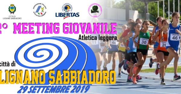 """2° Meeting Giovanile di Atletica Leggera """"Città di Lignano Sabbiadoro"""""""